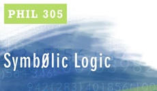 PHIL 305: Predicate Logic-History and use of first-order logic and second-order logic; natural-deduction and axiomatic proofs; modal logic; set theory and foundations of mathematics. 3 credit course.