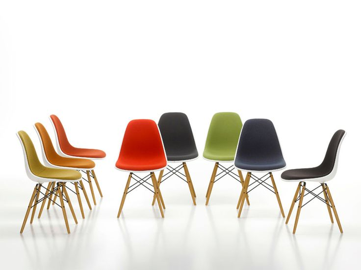 Chaise En Plastique DSW Collection Plastic Side Chair Group By Vitra |  Design Charles