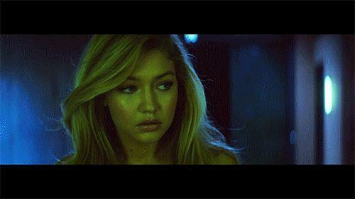 Gigi Hadid was an angel in Calvin Harris's new video.