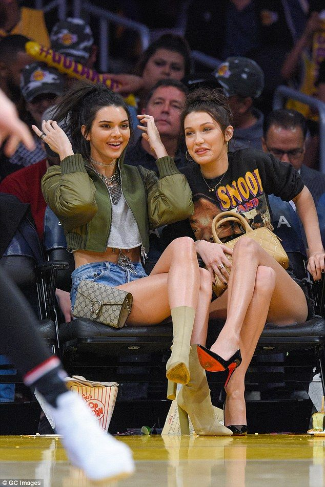 Just good friends? Jordan and Kendall were first linked back in the summer...