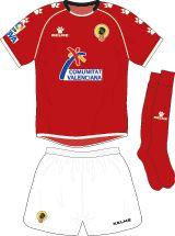 Hercules Alicante CF of Spain away kit for 2006-07.