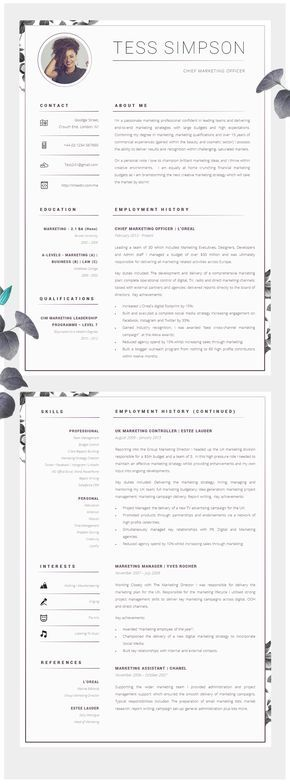 24 best Currículum images on Pinterest Resume templates, Creative - m w resume
