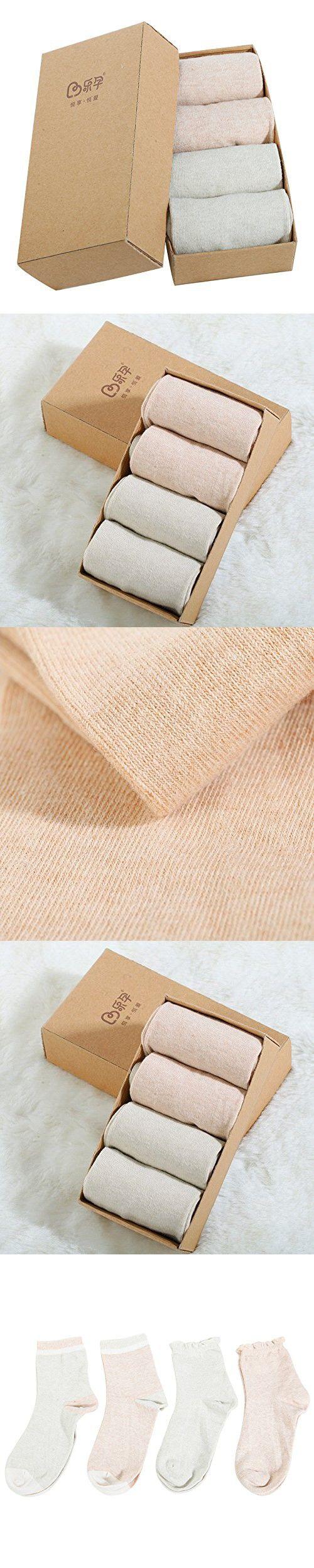 Leyun Maternity Cotton Socks 4 pairs Set