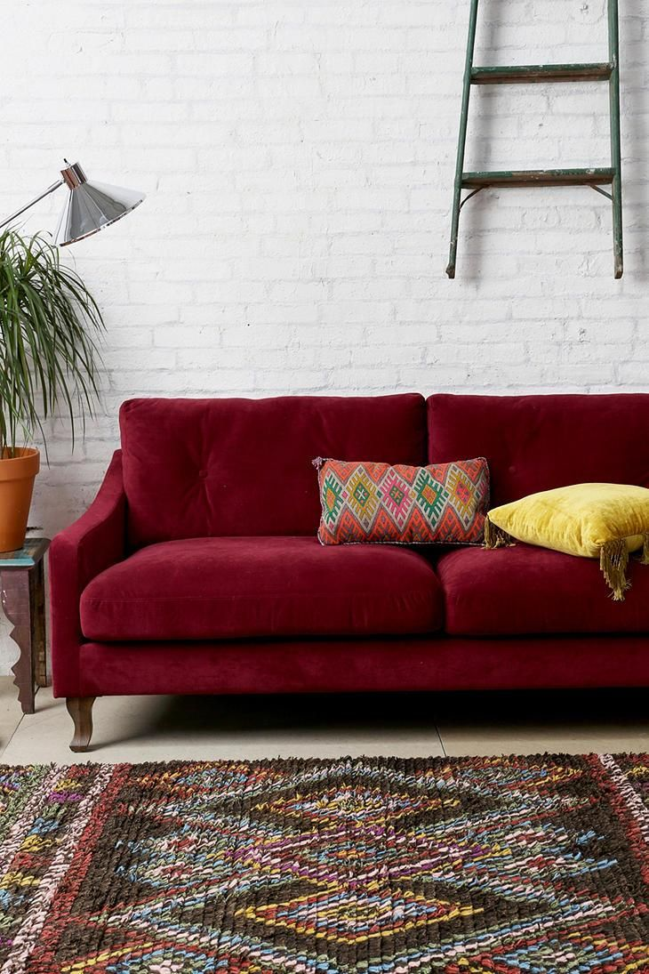 Best 25 Burgundy Couch Ideas On Pinterest Navy Walls