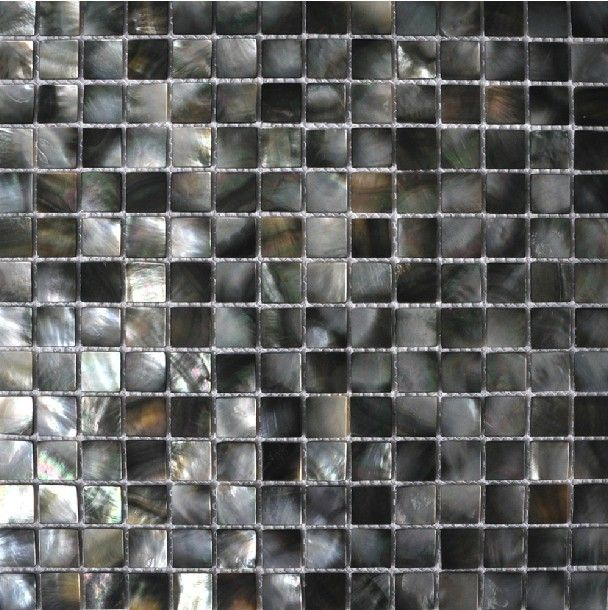black mother of pearl tile backsplash sea shell mosaic bathroom tile mop024 natural seashell mosaics mother