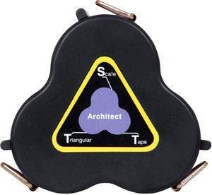 Architect's Triangular Scale Tape 9006-01