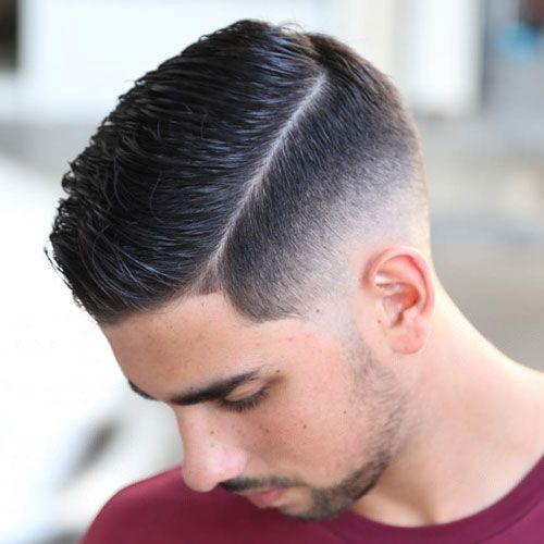 Hard Side Part with Low Bald Fade