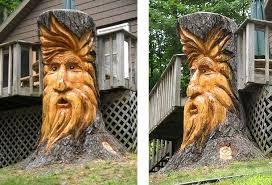 tree stump ideas - Google Search