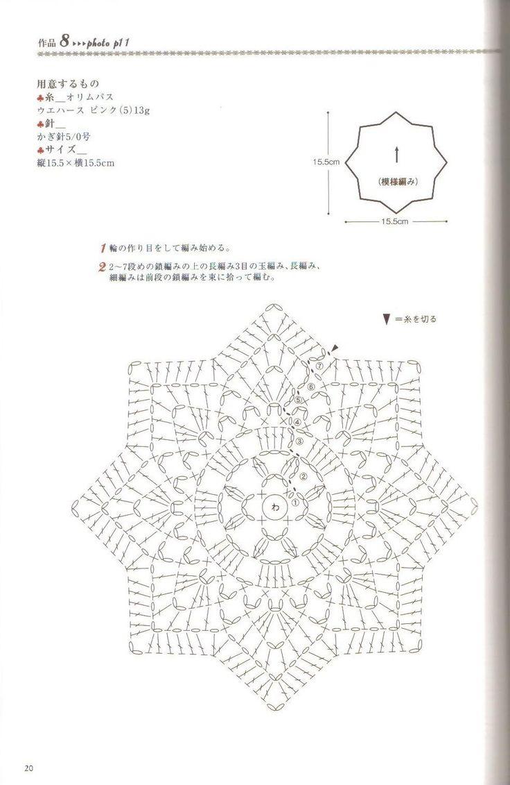 25  unique crochet doily diagram ideas on pinterest