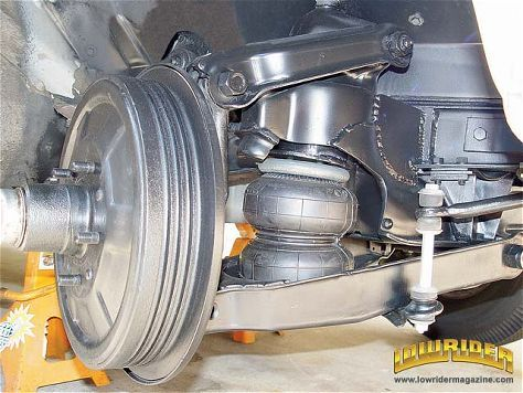 Affordable Air Bag Suspension Installation Tech Lowrider Magazine Bbbb Cars Ride Chevrolet
