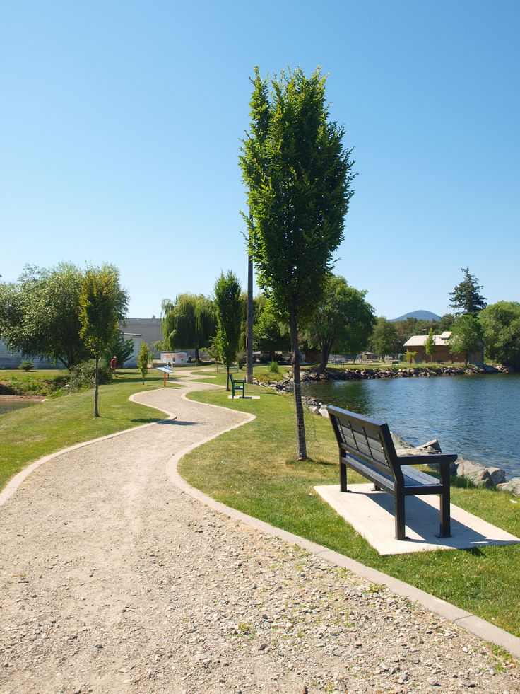 A Path on the Journey - Warf Park Naramata BC