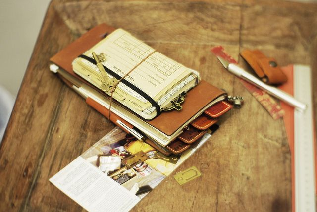Hacking GTD into Traveler's Notebook | Flickr - Photo Sharing!