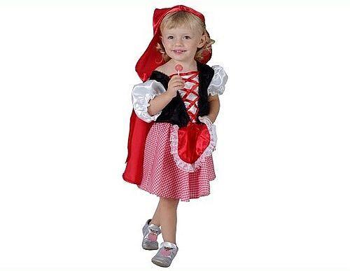 Karnevalový kostým Červená čiapočka, 3-4 r. - Casallia