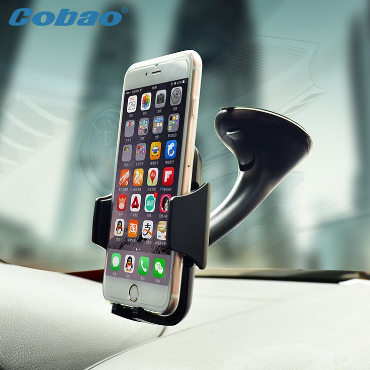 Universal mobile phone holder car windshield vacuum mount holder stand for phone smartIphone 5s 6 6s galaxy s4 s5 s6 Note3 4 5