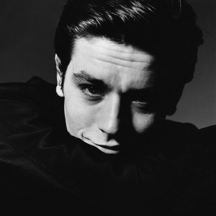 Bert STERN :: Alain Delon, for Vogue