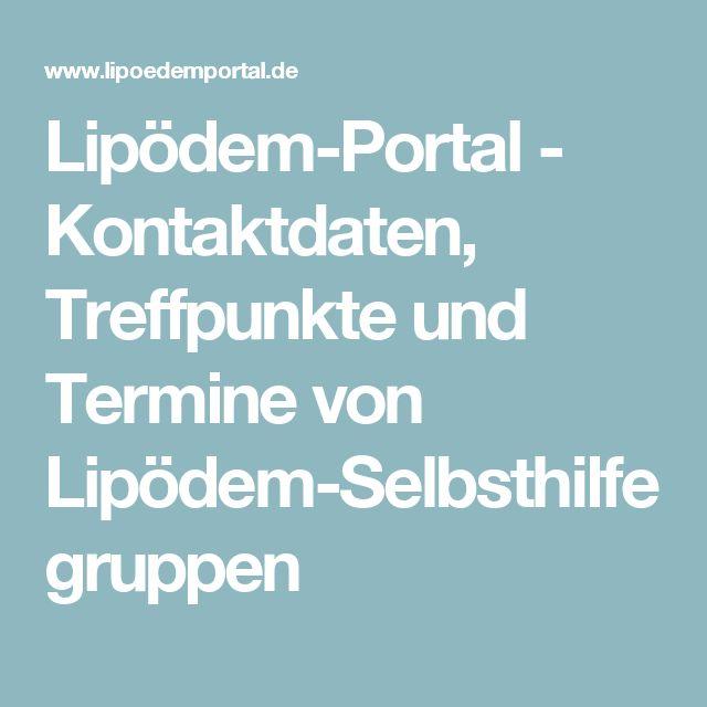 Lipödem-Portal - Kontaktdaten, Treffpunkte und Termine von Lipödem-Selbsthilfegruppen