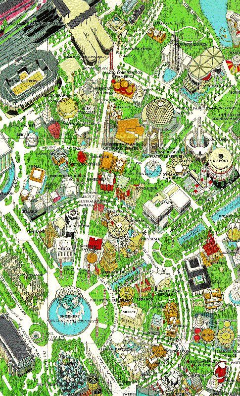 New York World's Fair Map