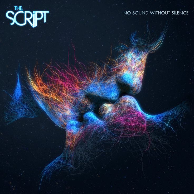 "The Script - No sound without silence album cover in cooperation with AMP Visual. Based on the artwork ""Last Kiss"""