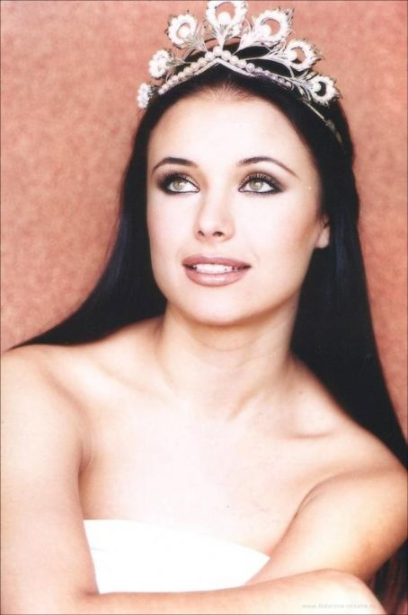 Oxana Fedorova Miss Russia
