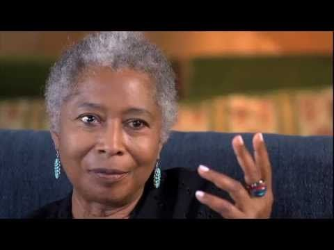 Alice Walker: author, poet, activist who often confronts race and gender in her work. Best known for The Color Purple.