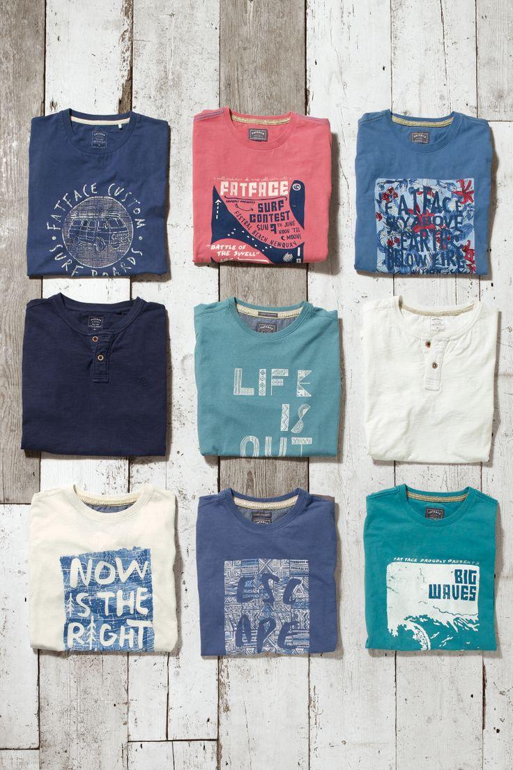 Shirt design words ideas -  Fatface Men S Graphic Tees