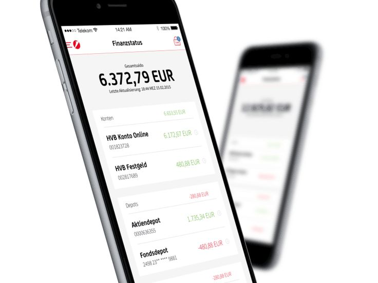 HVB Mobile Banking App by COBE