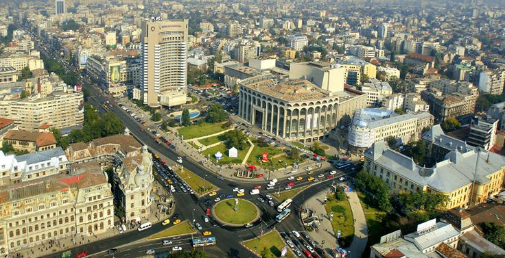 Bucharest city view , Romania.