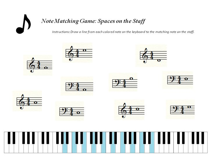 17+ images about Free Printable Music Theory Worksheets on ...