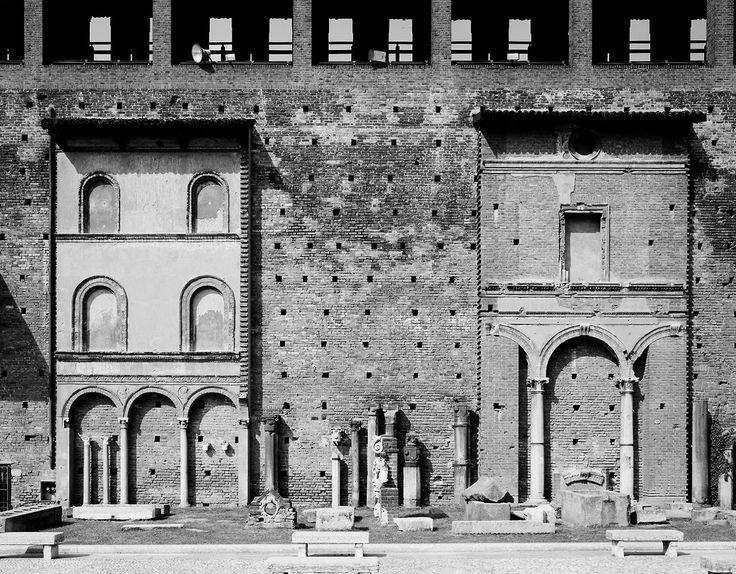 castello sforzesco  image by gabriele basilico