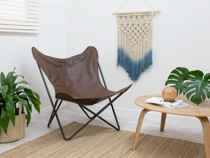 Butterfly Chair - Brown