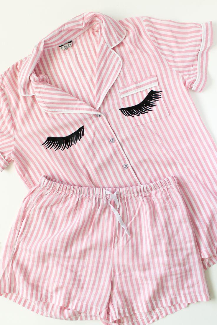 DIY Eyelash Pajamas (+ Template)