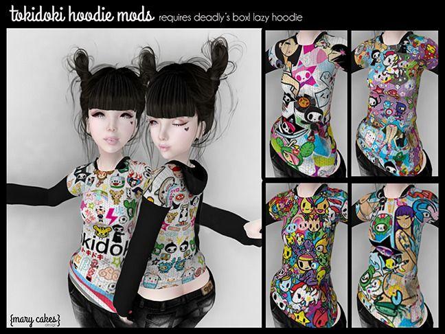 {MC} tokidoki Mods for Deadly's Box! Lazy Hoodie