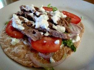 Healthy Homemade Gyros Recipe