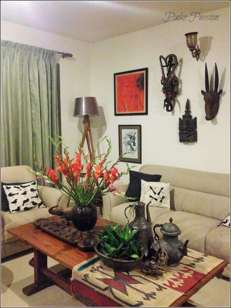 Indian Interiors Home Decor Homes Ethnic Quirky Awesome House Traditional Center Table