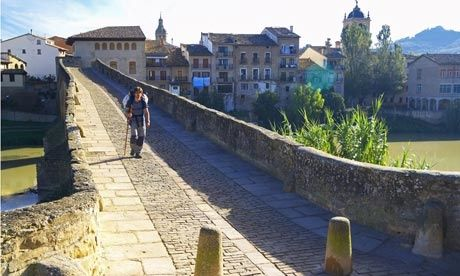 Puente la Reina, on the Camino de Santiago