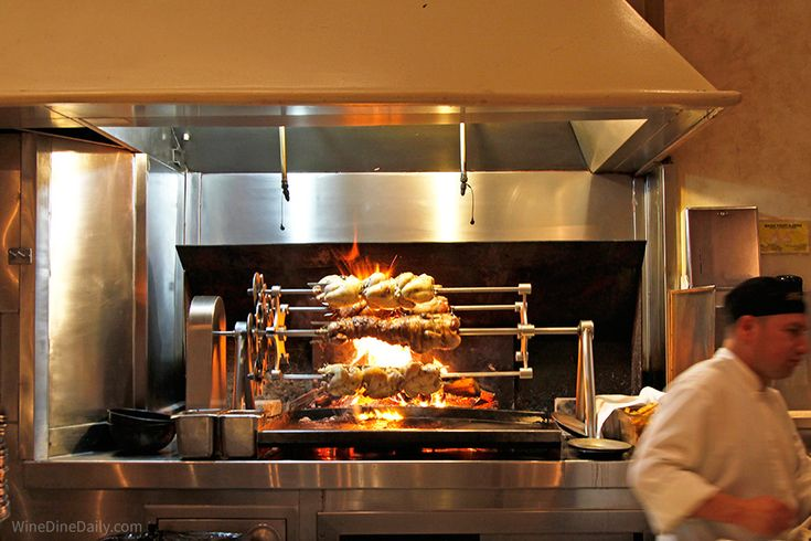 Il Fornaio Restaurant Beverly Hills Grill Oven Wood Grill Commercial Kitchen
