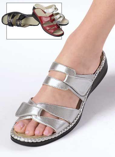 $20. Hannah comfort sandals.