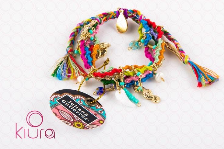 Pulsera Macramé www.kiura.com.co