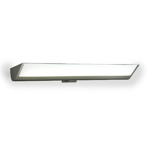 1054 SN Acid Frost Peninsula Vanity Light by PLC Lighting. $322.20. Lamp/Bulb: 2 x 39W - 120V - T5HO (3500K included)Glass/Crystal/Lens: Acid FrostHeight: 4 1/4Width: 3. 5Extension: 9 1/2Finish Shown: Satin Nickel with Acid Frost Glass. PLC Lighting Modern 1054 SN Acid Frost Peninsula Modern Contemporary Vanity Light Understanding Finishes and bulb types: CFL: Compact Fluorescent Lamp ORB: Oil Rubbed Bronze SN: Satin Nickel PC: Polished Chrome AL: Aluminum