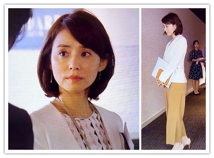 石田ゆり子『逃げるは恥だが役に立つ』4話・5話の百合ちゃんファッション♡ | ♥ めーたのFashion & Beauty BLOG ♥