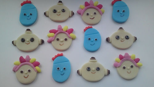 24 Handmade Edible In the Night Garden Cake Toppers | eBay