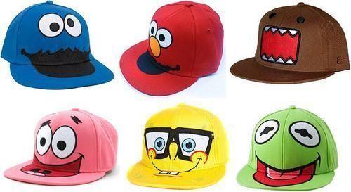 kinda cute hats: Fashion, Cookies Monsters, Style, Awesome Cap, Flats Bill Hats, Snapbacks Beanie, Bill Hats3, Cute Hats, Things