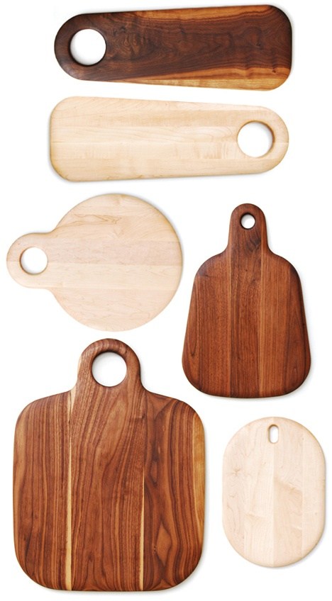 Cutting/Serving Boards by Geoffrey Lilge (2010).