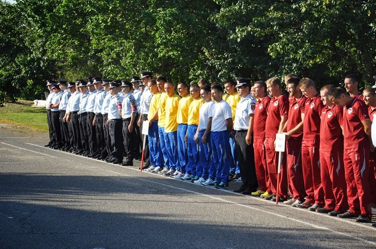 Concurs pompieri profesioniști, Etapa zonală - Arad 2014.Formații participante,