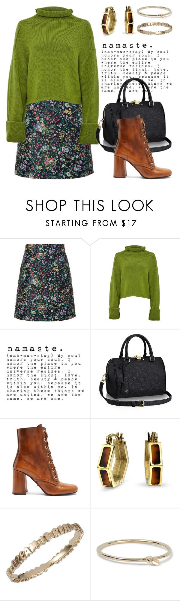 """Dark Florals!!!"" by boxthoughts ❤ liked on Polyvore featuring TIBI, Amanda Wakeley, Prada, Bling Jewelry and boxthoughts"