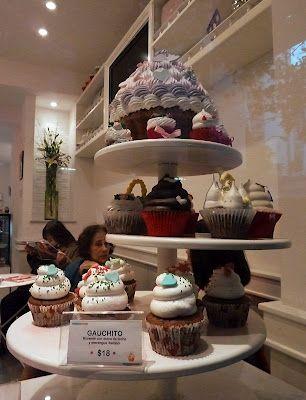 Cupcake cafe, Recoleta, Buenos Aires