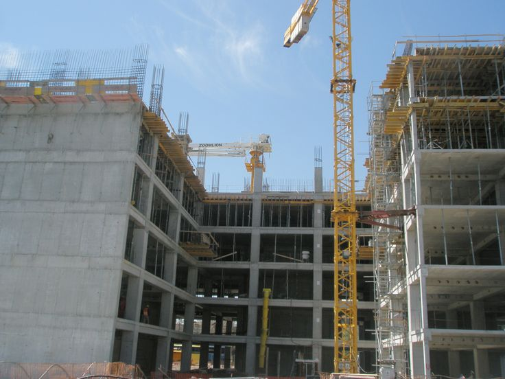 Hermes Business Campus- structura cladire
