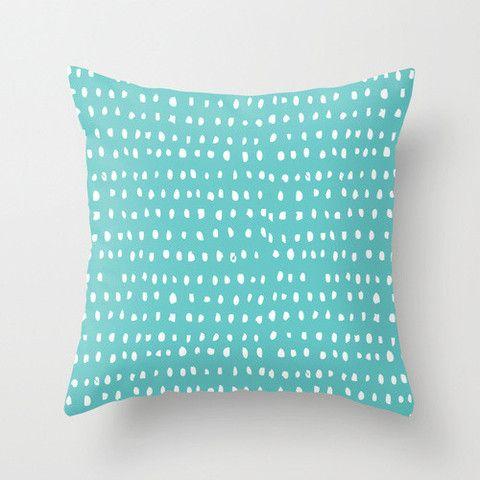 Cloud Nine Creative - Turquoise Dash Cushion
