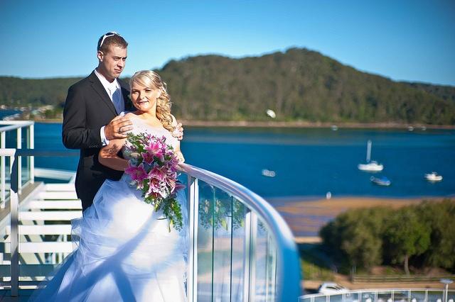 Ettalong Beach Wedding at the Mantra Resort by Edward Yd via Flickr.