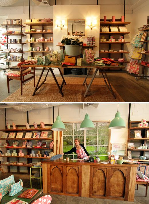 I so love the look of this store and the shelving is outstanding!